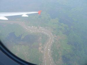 Kambodscha Luftbild