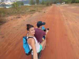 Rollertour Kambodscha